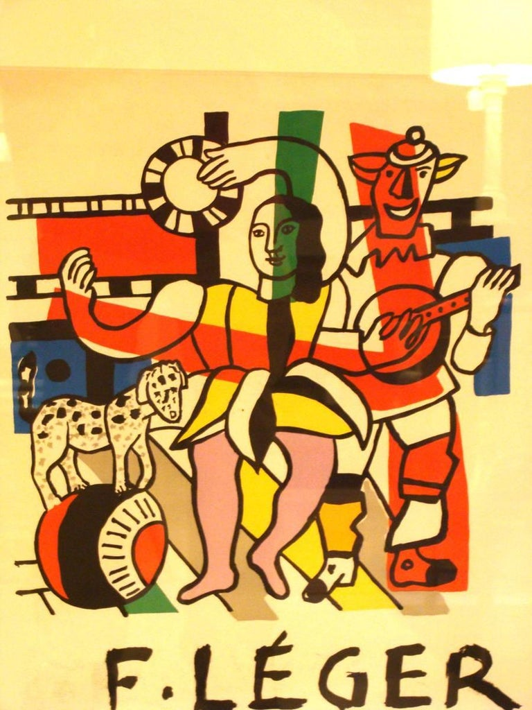 French Fernand Leger Exhibition Poster For Sale