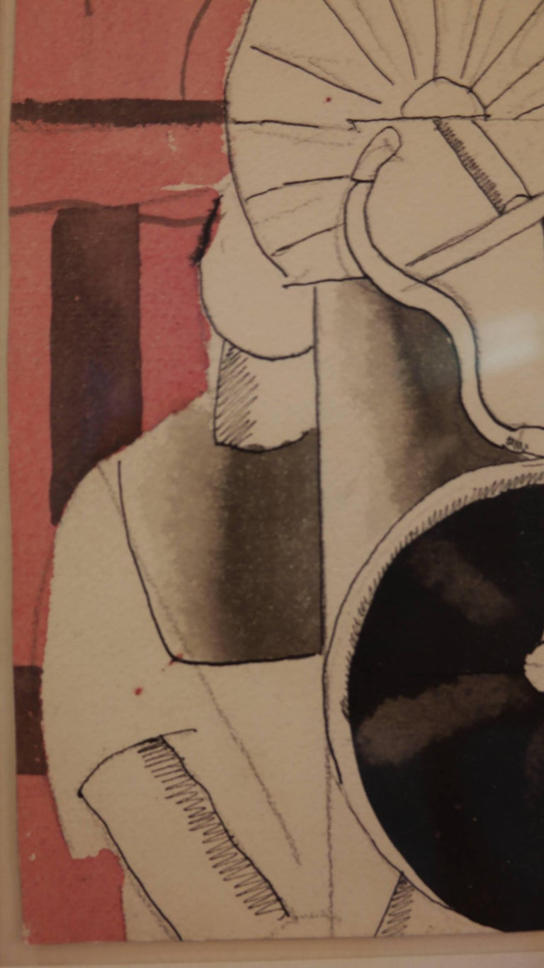 Fernand Léger, L'Homme et Les Disques, 1920 In Excellent Condition For Sale In Hong-Kong, HK