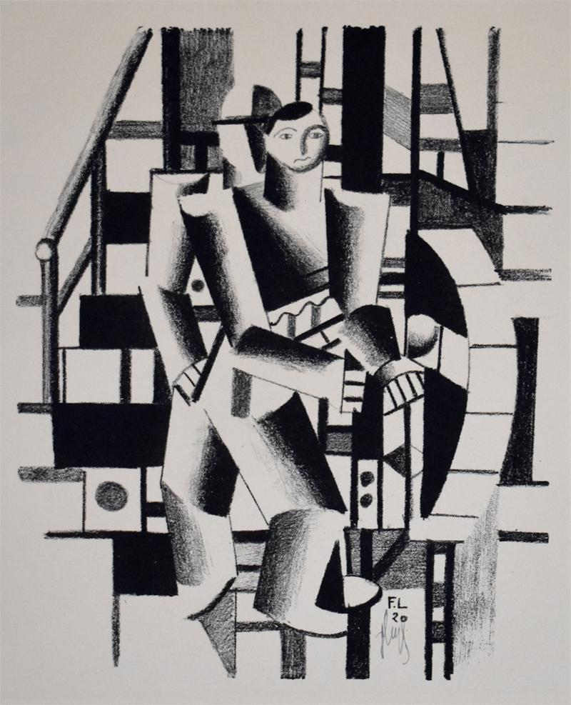 Composition with Two Figures, from: The Creators French Cubism