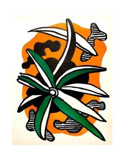 Fernand Léger - Flowers - Original Lithograph