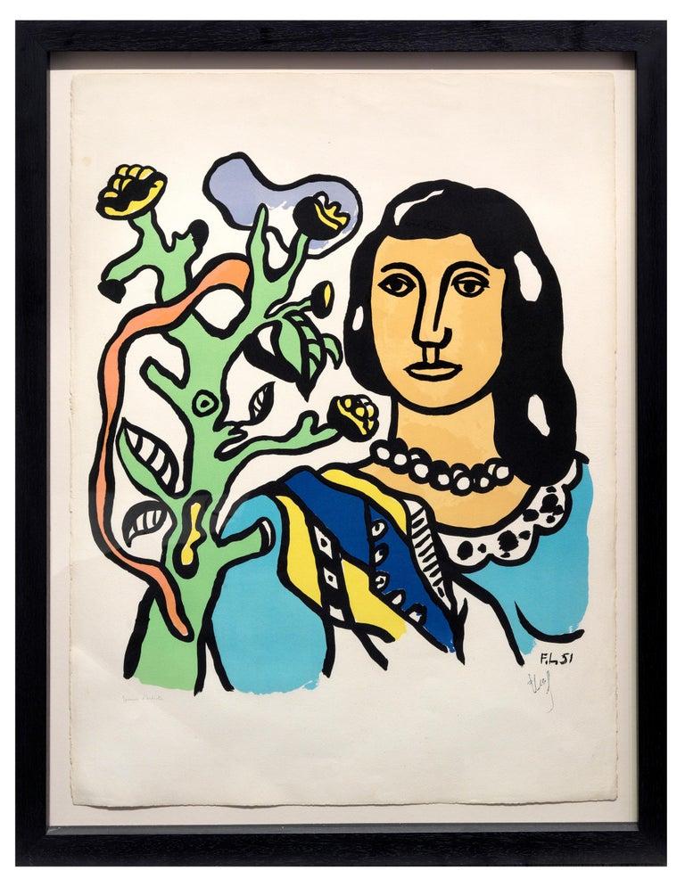 La Femme et la fleur 1