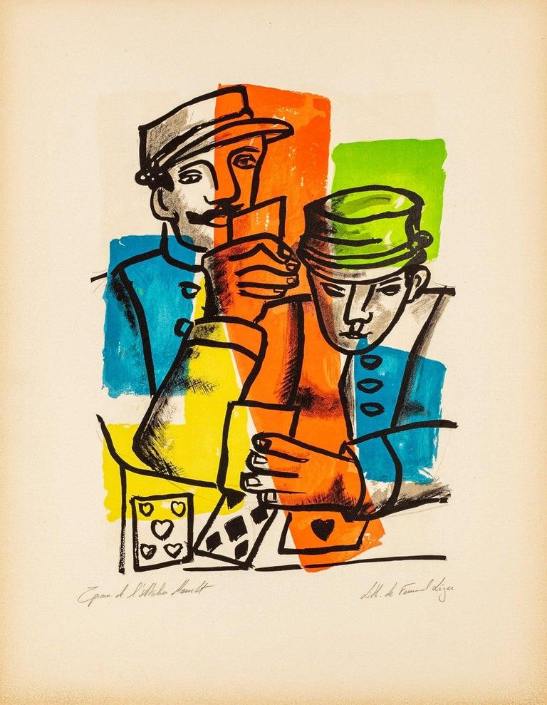 """Fernand Léger Print - Les Soldats - """"La Ville"""" by Fernand Leger, 1959"""