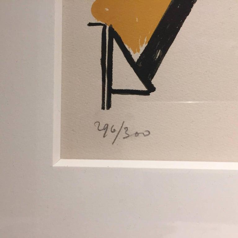 French Fernand Léger ''L'Homme dans la Ville'', 1959 For Sale