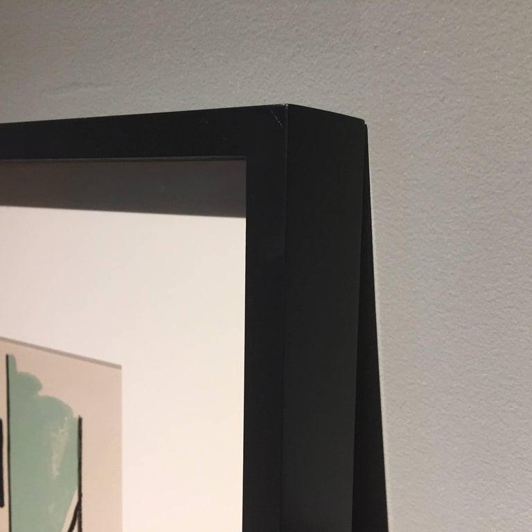 Fernand Léger ''L'Homme dans la Ville'', 1959 In Excellent Condition For Sale In Hudson, NY
