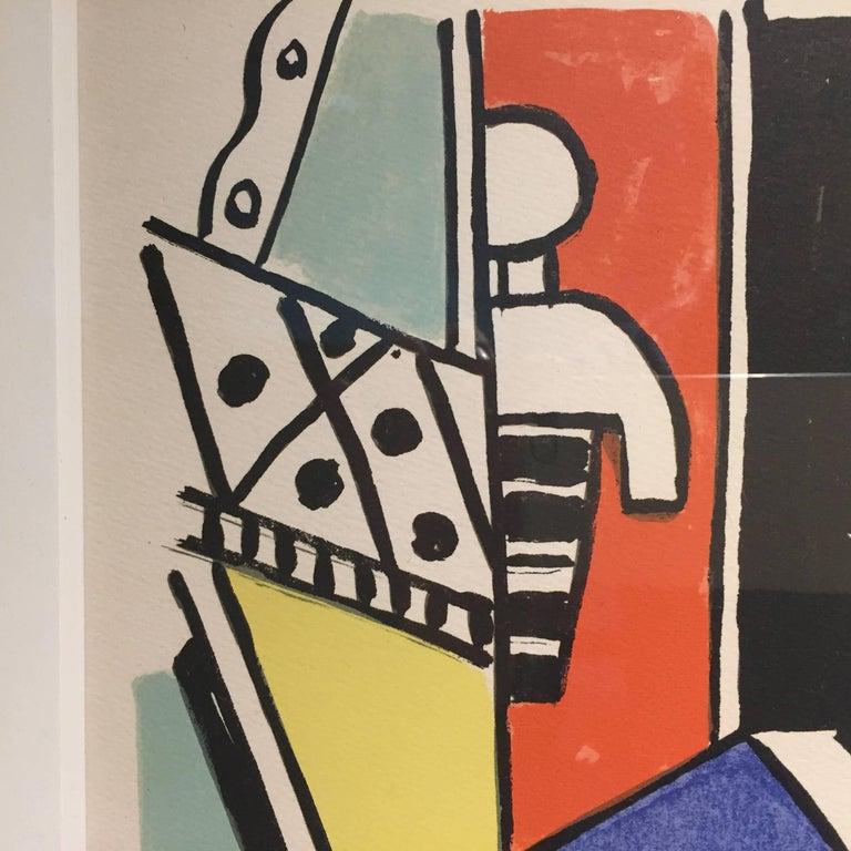 Mid-20th Century Fernand Léger ''L'Homme dans la Ville'', 1959 For Sale