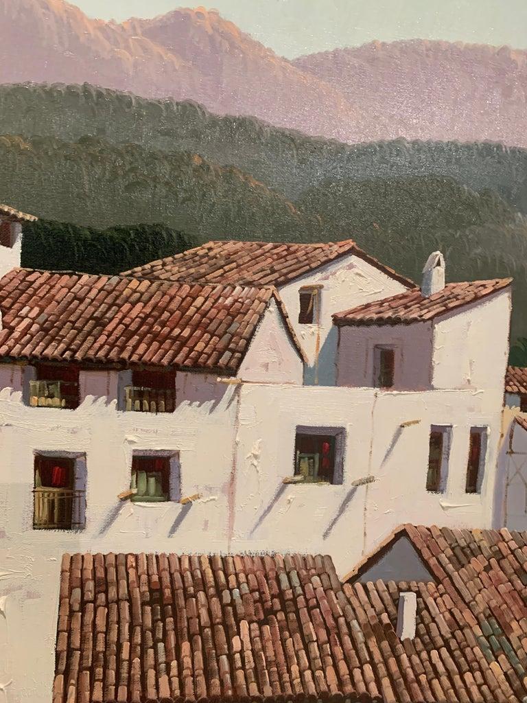Views of Spain - Impressionist Painting by Fernando Alcaraz