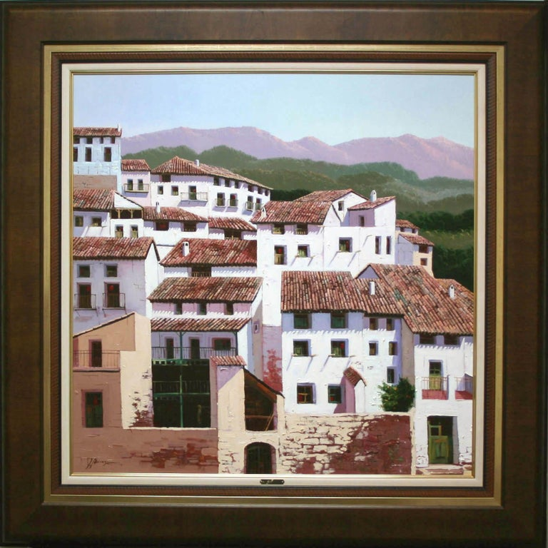 Fernando Alcaraz Landscape Painting - Views of Spain