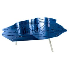 Fernando and Humberto Campana Brasilia Table, Midnight Blue Mosaic, Edra, Italy