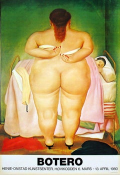 1980 Fernando Botero 'The Morning After' Contemporary Offset Lithograph