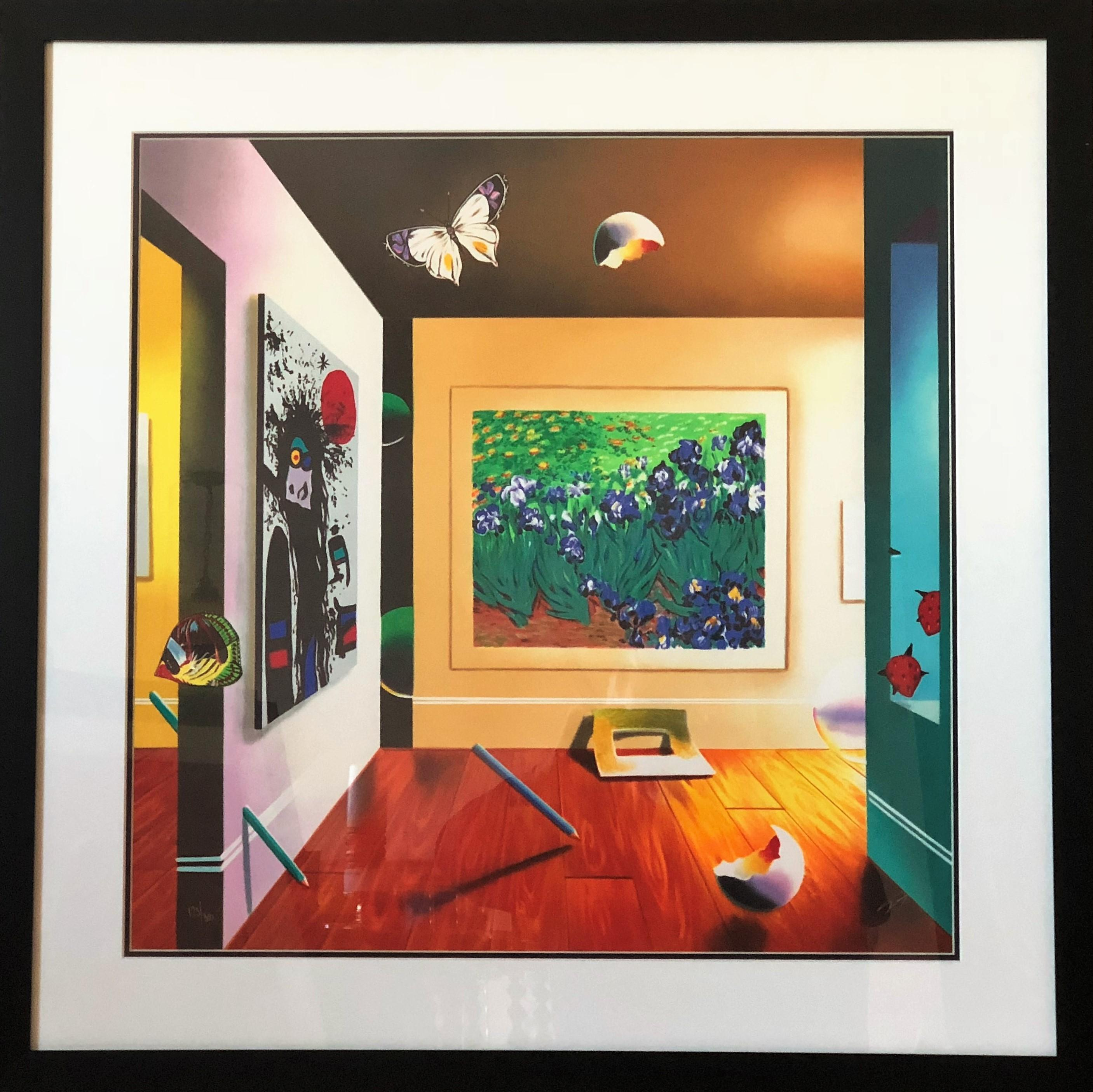 Homage to Van Gogh - Limited Edition Lithograph by Ferjo