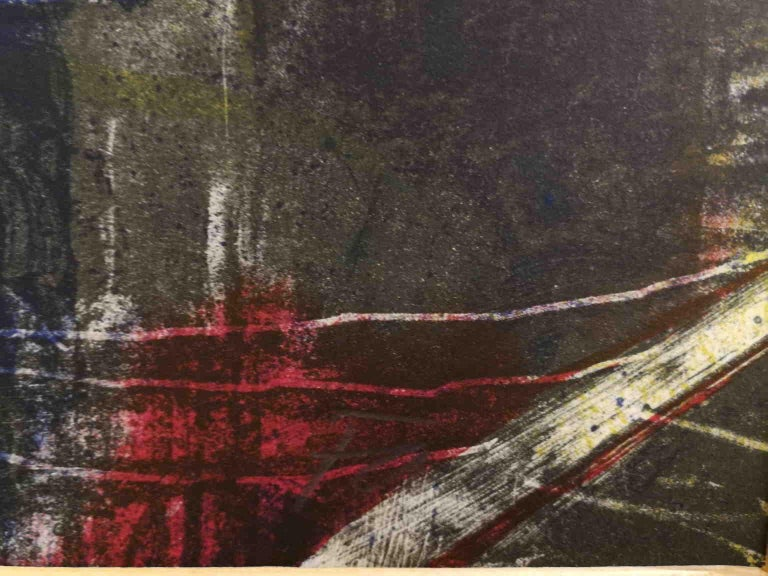Signed F Farulli Lithograph 20th century For Sale 1
