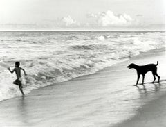 Bahia Brazil Photograph (Boy and Dog, Summer)