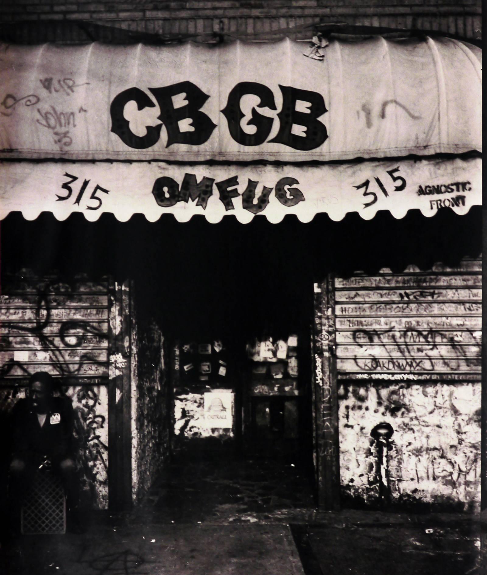 CBGB photograph East Village (CBGB Bowery NYC)