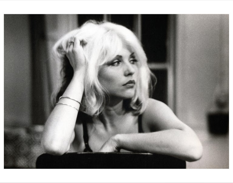Fernando Natalici Black and White Photograph - Debbie Harry Blondie photograph, New York, 1976 (Unmade Beds)
