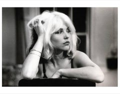 Debbie Harry photograph (on the set of Unmade Beds), New York, 1976