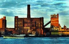 Domino Sugar Factory Williamsburg Brooklyn photo (Brooklyn New York photograph)