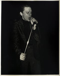 James White Mudd Club photograph (James Chance)