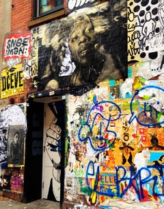 New York Street Art Photograph (Chelsea Manhattan)