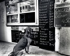 'Schnitzel Please!' Dresden Germany photograph, 1999