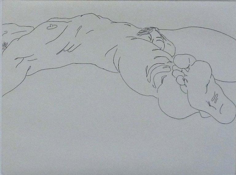 Fernando Reyes Nude Print - SLM III