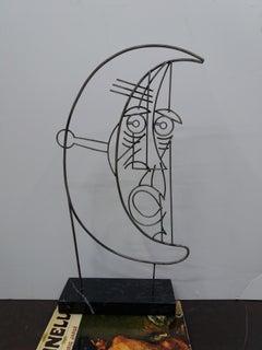 Rostro. Original escultura Iron.