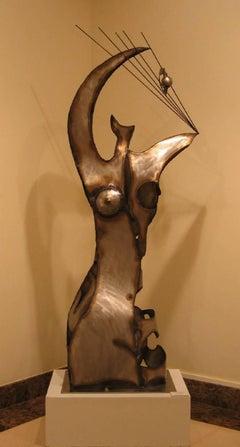 """ALEGORIA"" 2007 iron and sheet original sculpture"