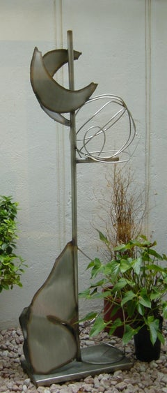 Quimeres original coontemporary steel esculpture