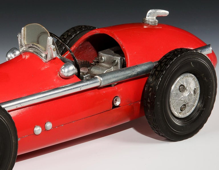 Other 'Ferrari 500 F2' Cast Aluminium Pylon or 'Tether' Racing Car Toy by Vega, 1952 For Sale
