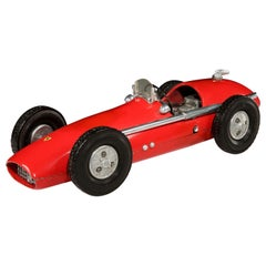 'Ferrari 500 F2' Cast Aluminium Pylon or 'Tether' Racing Car Toy by Vega, 1952