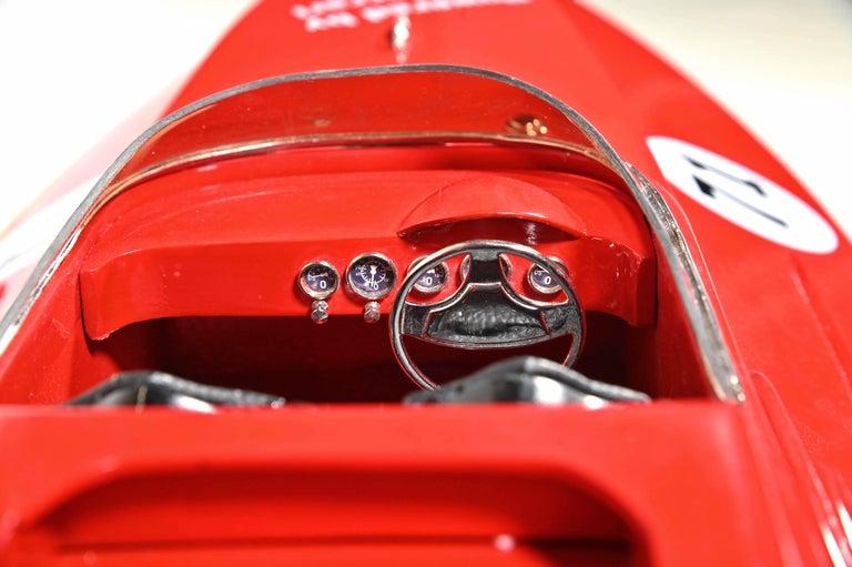 Italian Ferrari Freccia Rossa Speed Motorboat For Sale