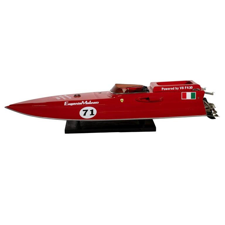 Ferrari Freccia Rossa Speed Motorboat For Sale