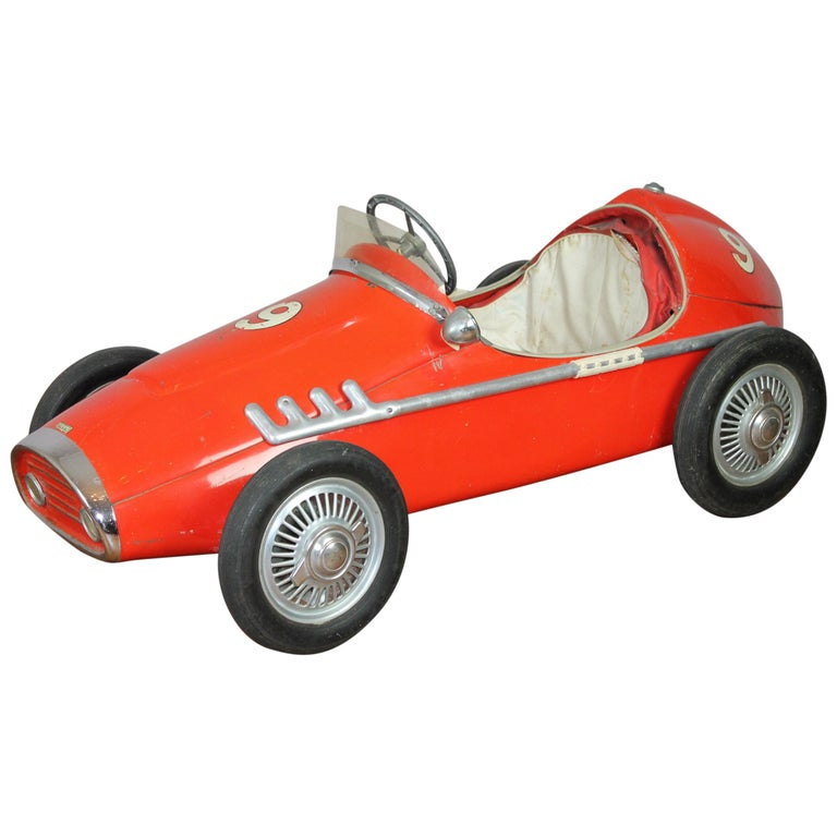 Ferrari Pedal Car By Corrado And Remondini, Italy, Child's