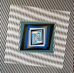 The Dynamic of Color - Variation frame Bianco, Grigio e Altro