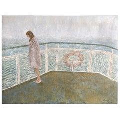 Ferry Passenger Oil on Canvas