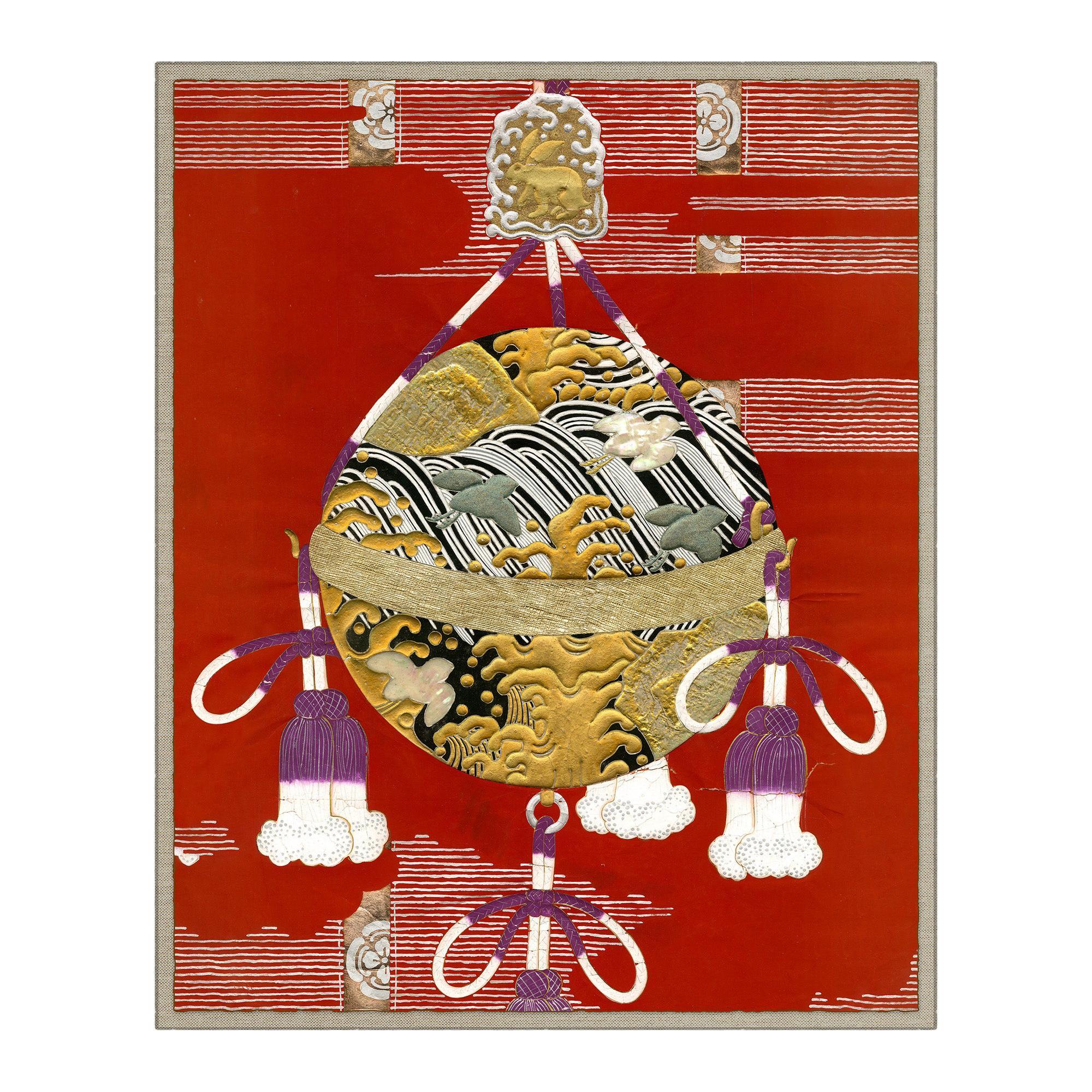 Festival Balloon Japanese Print by CuratedKravet