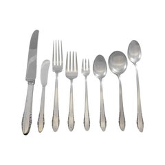 Festival by Lunt Sterling Silver Flatware Set for 6 Service 57 Pieces