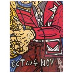 Festival de Jazz de Paris 1989 Original Vintage Poster