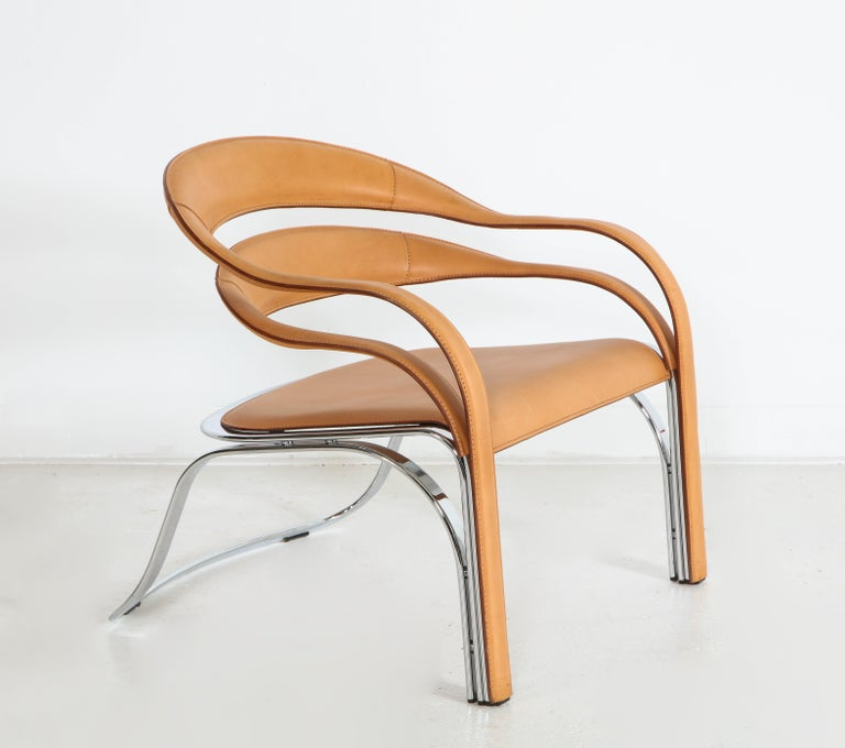 Fettucini Lounge Chair Offered by Vladimir Kagan Design Group For Sale 5