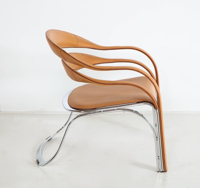 Fettucini Lounge Chair Offered by Vladimir Kagan Design Group For Sale 6