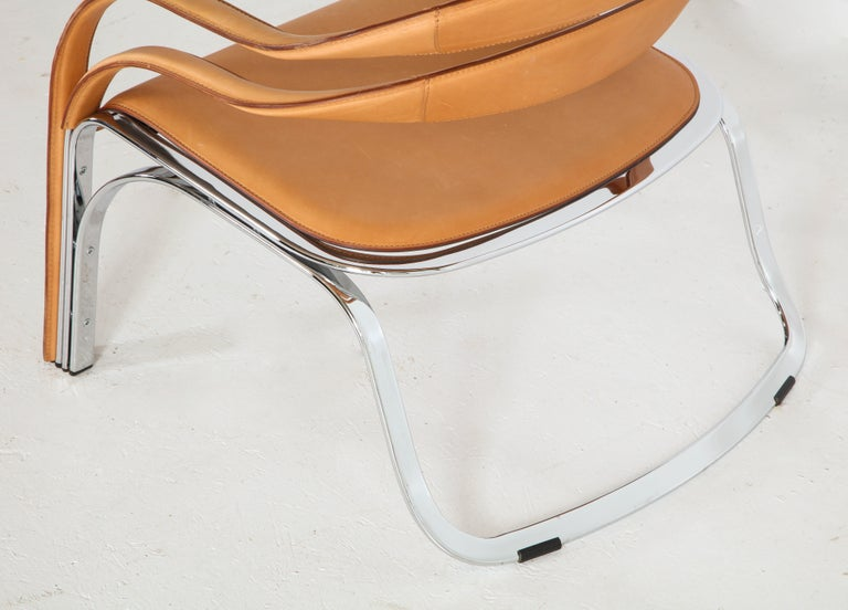 Fettucini Lounge Chair Offered by Vladimir Kagan Design Group For Sale 7