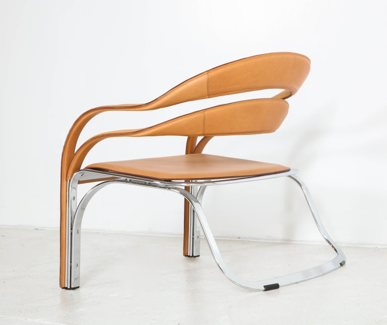 Fettucini Lounge Chair Offered by Vladimir Kagan Design Group For Sale 8