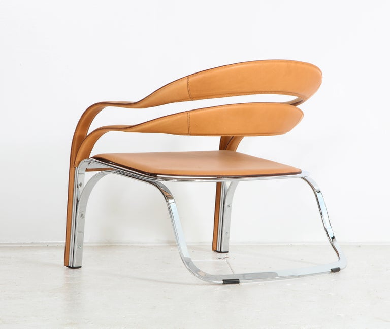 Fettucini Lounge Chair Offered by Vladimir Kagan Design Group For Sale 10