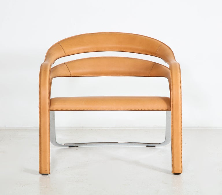 Modern Fettucini Lounge Chair Offered by Vladimir Kagan Design Group For Sale
