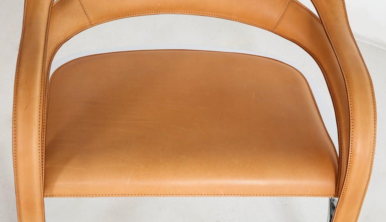 Contemporary Fettucini Lounge Chair Offered by Vladimir Kagan Design Group For Sale