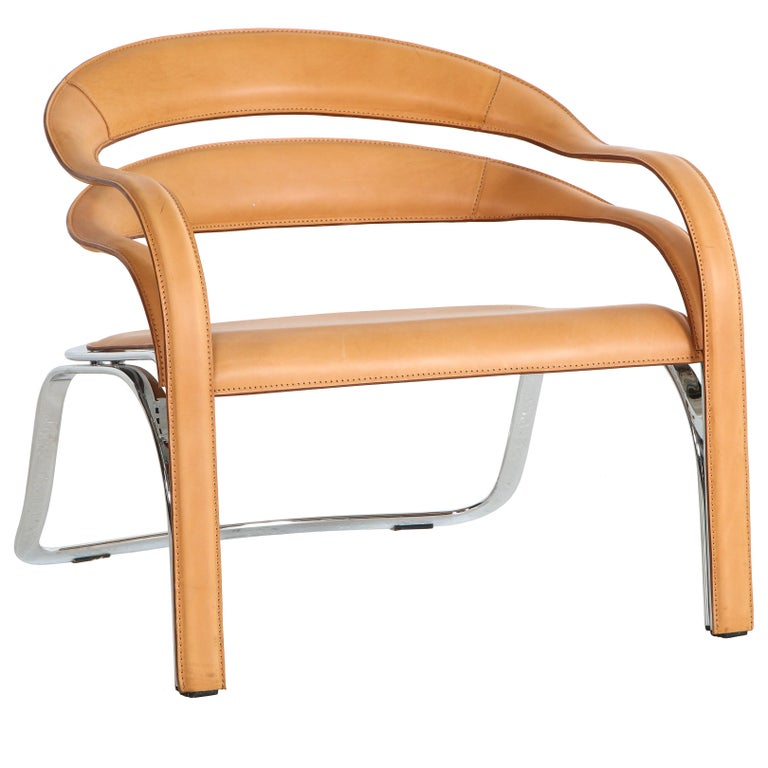 Fettucini Lounge Chair Offered by Vladimir Kagan Design Group For Sale