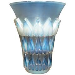Rene Lalique 'Feuilles' Vase