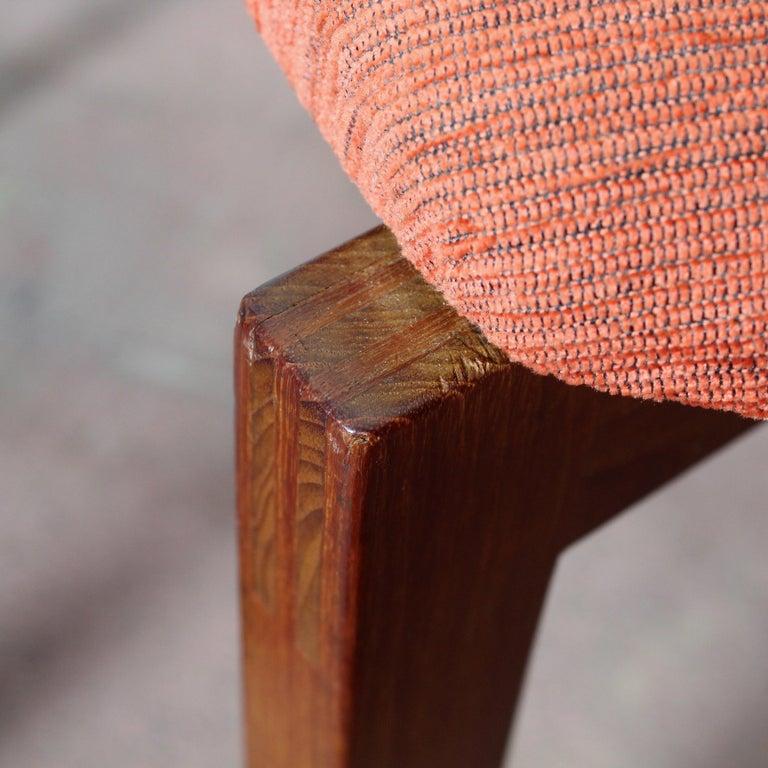 FF Caffrance 1960 Modern Design Teak Wooden Chairs For Sale 4