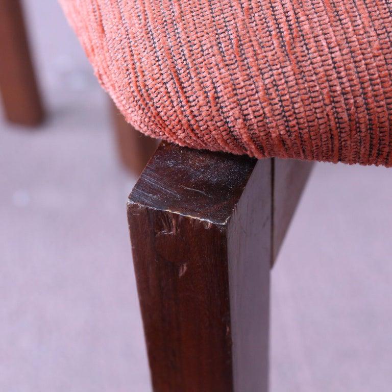 FF Caffrance 1960 Modern Design Teak Wooden Chairs For Sale 6
