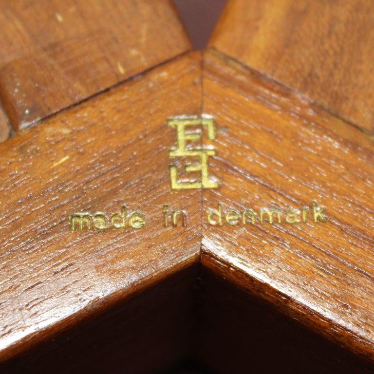 FF Caffrance 1960 Modern Design Teak Wooden Chairs For Sale 12