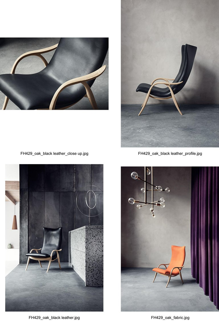 FH429 Signature Chair in Oiled Oak by Frits Henningsen For Sale 8